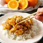 This Easy Healthier Sesame Orange Chicken is the perfect Asian-inspired weeknight meal that's better than take-out and a healthy choice for the whole family!
