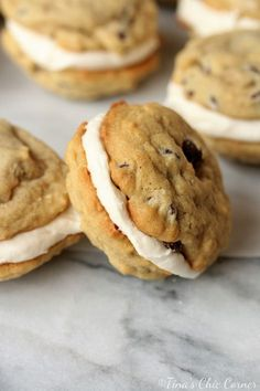 Chocolate Chip Cookie Whoopie Pies – Tina's Chic Corner