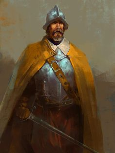 Torreon (Barony of) area/region [The Spanish explorer from the age of exploration] Fantasy Male, Fantasy Armor, High Fantasy, Medieval Fantasy, Fantasy World, Conquistador, Dnd Characters, Fantasy Characters, Warhammer Fantasy Roleplay