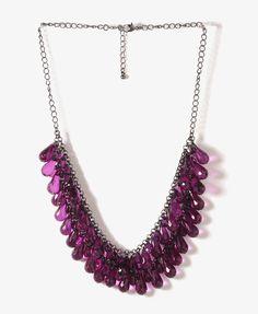 Teardrop Fringe Necklace | FOREVER21 - 1025727262