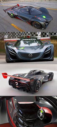 Batman's Sleek Mazda Furai Spotted