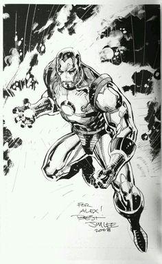 Iron Man - Jim Lee