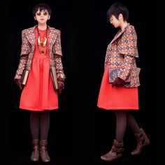 Evita Nuh, a 14 y.o fashion blogger from Indonesia. love her style!