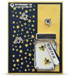 VIDEO SERIES: Firefly Luminary Gift Set – Part 1 – The Card | Stampin Up | Tami…