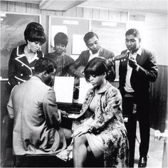 The Supremes with Holland-Dozier-Holland.