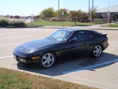 Here's my Porsche 944 Turbo.  I love driving it.  I hate fixing it.