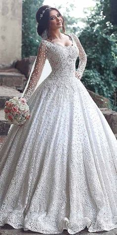 18 Various Ball Gown Wedding Dresses For Amazing Look in 2018