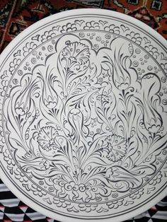 Porcelain, Vase, Patterns, Tableware, Inspiration, Painting, Dishes, Mandalas, Drawings
