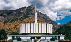 Provo Utah LDS Temple.  I attended this temple while at the MTC.  LDS are also known as Mormons or The Church of Jesus Christ of Latter Day Saints
