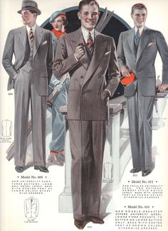 Fall 1934 to Winter 1935 Style Book of Windsor Clothing company; rare, personal collection.