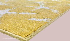Dafne Stars Yellow Rug (texture close up), an Italian designed 100% advanced soft polypropylene outdoor rug (available in 4 sizes, from £175.00)  http://www.therugswarehouse.co.uk/modern-rugs3/dafne-rugs/dafne-stars-yellow-rug.html #rugs #outdoorrugs
