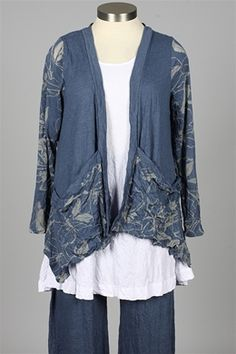 Chalet - Danica Cardigan Plus - Marina....like this!!!!!