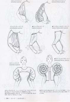 Sewing Sleeves - sleeve inspiration