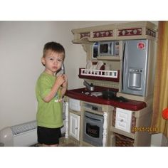 Step2 Lifestyle New Traditions Kitchen | Toy Kitchens  Http://www.activitytoysdirect.com/step2/lifestyle New Traditions Kitchen/p730  | Burgers | Pinterest ...