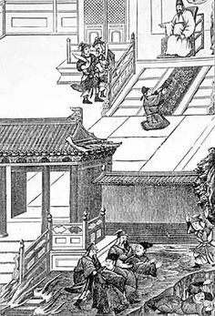 Burning of books by order of Shi Huangdi