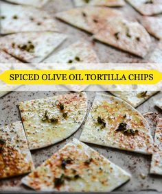 Just add your favorite dip to these Spiced Olive Oil Tortilla Chips and you've got an instant appetizer that's perfect for entertaining at home.