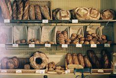 Bakery - bread display