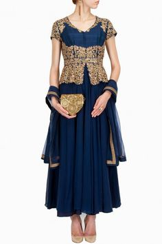Gorgeous Boutique Dresses by Aneesh AgarwaalSuits Vogue 2015 (4)