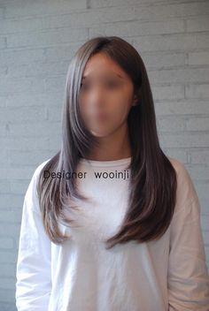 2017염색추천! 퍼플에쉬베이지(준오헤어방배2우인지) : 네이버 포스트 Haircuts For Long Hair With Layers, Haircuts Straight Hair, Long Layered Hair, Medium Hair Cuts, Long Hair Cuts, Medium Hair Styles, Long Hair Styles, Framed Face Haircut, Straight Brunette Hair
