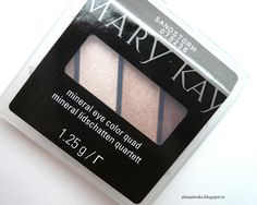 "Alenka's beauty: Mary Kay Mineral eye Color Quad #075236 ""Sandstorm..."