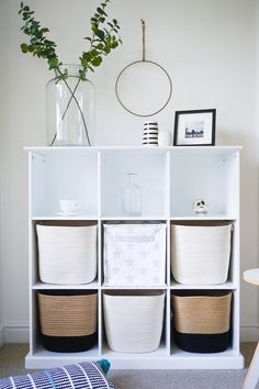 My favourite finds: ridiculously ravishing rope storage baskets — The Ordinary Lovely Deck Storage Bench, Cube Storage Baskets, Storage Bins, Storage Spaces, Storage Cubes, Yarn Storage, Kitchen Storage, Storage Ideas, Diy Rangement