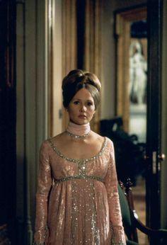 Medium shot of Nancy Barrett as Carolyn Stoddard.