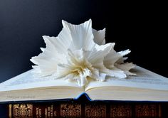Book Sculpture  Abstract Art  Altered Book  by MalenaValcarcel