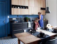 Des cuisines modernes en bois, le retour