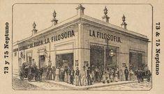 La Filososfia, anuncio de tienda en Cuba. Calle Neptuno #73 y #75