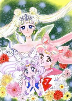 chibiusa and kousagi - Google Search