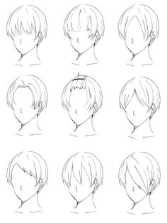 Drawing tips mouths ; drawing tips for beginners, . Drawing Male Hair, Guy Drawing, Drawing Base, Drawing Tips, Anime Hair Drawing, Drawing Hair Tutorial, Manga Drawing Tutorials, Art Tutorials, Anime Boy Hair