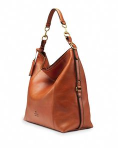 a166e023836b Gucci Harness Leather Hobo Bag