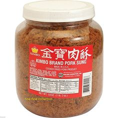 Kimbo Brand Sung Cooked Dried Pork 18 oz (1lb, 2oz) by Kimbo -- Awesome products selected by Anna Churchill