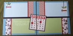 Letters To Santa Bingo Layout by Melany Watson