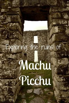 http://www.greeneratravel.com/ Trip Travel Deals - How to explore Machu Picchu. #travel #Peru