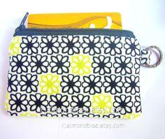 Flower, credit cardholder, https://www.etsy.com/sg-en/shop/AlmondTree #purse, #handmade, #etsy, #cardholder, #womenswallet