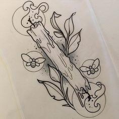 Tattoos And Body Art tatoo flash Tattoo Sketches, Tattoo Drawings, I Tattoo, Tattoo Fonts, Burn Tattoo, Wicca Tattoo, Tattoo Quotes, Music Drawings, Tattoo Hand