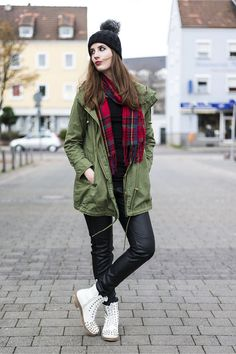 The Parka is Must Have Jacket for Winter 2014 Just add a funky scarf 0fa06e425201