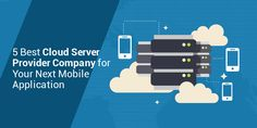 Cube Hosting provides details on 5 best cloud server provider company for your next mobile application Mobile App Development Companies, Mobile Application, Clouds, Technology, Tech, Tecnologia, Cloud