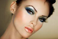 Delikatny makijaż z nutą jesiennych kolorów #makeup #party
