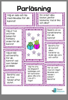 Pin by Eda Meta on Learning Swedish language Reading Skills, Teaching Reading, Homework Motivation, Learn Swedish, Swedish Language, Language School, School Posters, School Subjects, Too Cool For School
