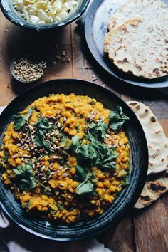 Nourishing Channa Dal with Kale (vegan & gluten free). A super easy & healthy recipe packed with flavour. Perfect for a quick lunch or dinner. Indian Food Recipes, Whole Food Recipes, Cooking Recipes, Ethnic Recipes, Dinner Recipes, Delicious Vegan Recipes, Vegetarian Recipes, Healthy Recipes, Veg Recipes
