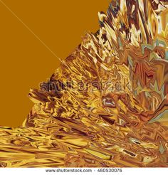 Background of glitch manipulations with 3D effect. Abstract landscape with sharp…