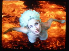 Selbstlos im Lavabed (Selfless in the Bath of Lava) Pipilotti Rist