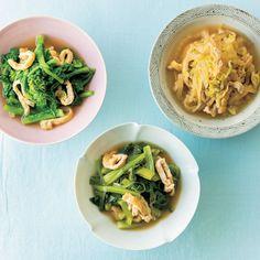 煮びたしは「野菜+油揚げ」だけで完璧!絶妙なおいしさに Meat, Chicken, Cooking, Ethnic Recipes, Food, Yahoo, Kitchen, Cuisine, Koken