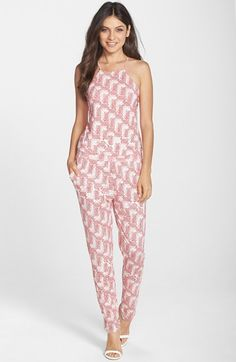 Tart 'Stormi' Print Jersey Jumpsuit available at #Nordstrom