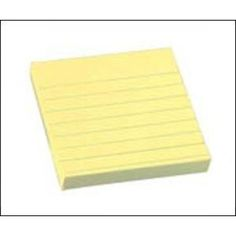 Öntapadós jegyzettömb vonalas 75 x 75 sárga 654L Eagle - Öntapadó jegyzettömb - 119Ft - Öntapadós jegyzet