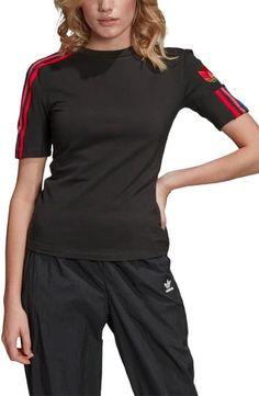 $26.25. ADIDAS ORIGINALS Top Adicolor 3D Trefoil T-Shirt #adidasoriginals #top #t-shirt #clothing Adidas Originals Tshirts, Adidas Women, Nordstrom, Dresses For Work, Active Wear, The Originals, Tees, 3d, Sleeves