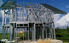 Casa Moderna, construita pe Structura Metalica Usoara Smart Set, Metal, Multi Story Building, Trendy Tree, Houses, Metals