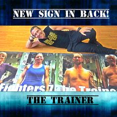 New sign that's going up in back of the studio! The Trainer The Trainer Boxing/Functional Training Club Hood River http://www.thetrainerhoodriver.com #thetrainer #hoodriver#personaltrainer #functionaltraining #functionaltrainer#rusticparkour #insideoutfit